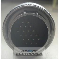 Conector circular 20 pinos WS28 Macho