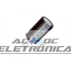Capacitor eletrolítico 0,47uf x 50v 85º