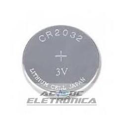 Bateria botão 3V CR2032 200mAh