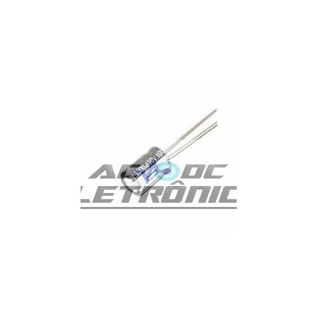 Capacitor eletrolítico 1000uf x 10v 105º