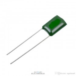 Capacitor poliester 10nf x 100v