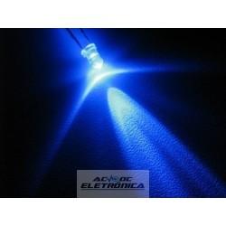 Led 3mm azul alto brilho 8000mcd