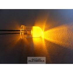 Led 5mm amarelo alto brilho 8000mcd