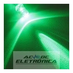 Led 5mm verde alto brilho 8000mcd