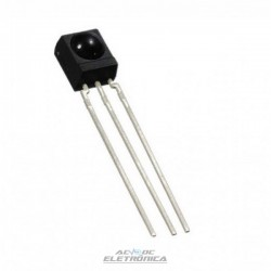 Receptor infravermelho 4017 3 pinos - 40kHz