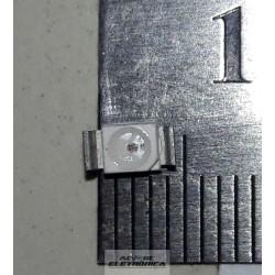 Led vermelho SMD 3528 - 3,5mm x 2,8mm 800mcd