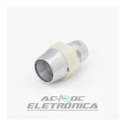 Suporte p/led 5mm cromado