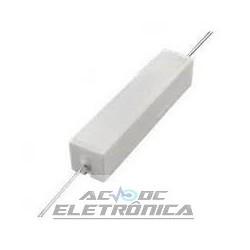 Resistor 1R 20W - cerâmico