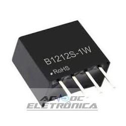 Conversor B1212S 12v 1W DC DC isolador