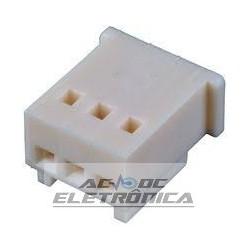 Conector 03 vias macho 251303HM001 excon