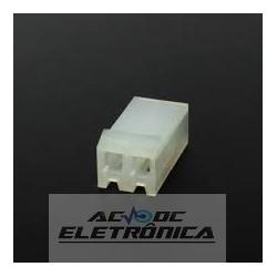 Conector KK 2 vias 3,96mm 396102HA