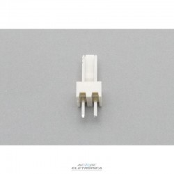 Conector KK 02 vias 180º macho 2,50mm PCI - 5045-02
