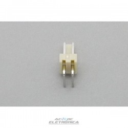 Conector KK 02 vias 90º macho 2,50mm PCI - 5046-02
