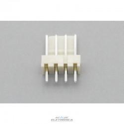 Conector KK 04 vias 180º macho 2,50mm PCI - 5045-04