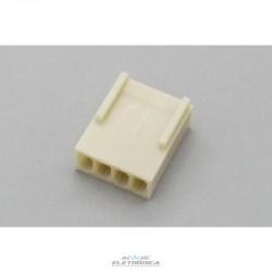 Conector KK 04 vias femea 2,50mm - 5051-04