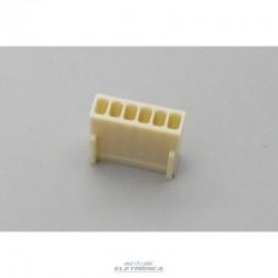 Conector KK 06 vias femea 2,50mm - 5051-06