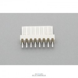 Conector KK 08 vias 180º macho 2,50mm PCI - 5045-08