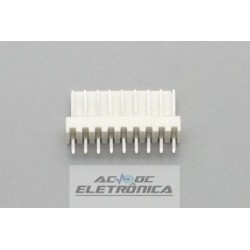 Conector KK 09 vias 180º macho 2,50mm PCI - 5045-09