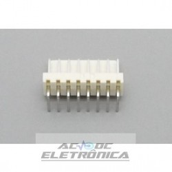 Conector KK 08 vias 90º macho 2,50mm PCI - 5046-08