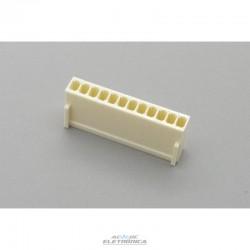 Conector KK 12 vias femea 2,50mm - 5051-12
