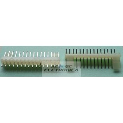 Conector KK 16 vias 180º macho 2,50mm PCI - 5045-16