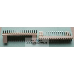 Conector KK 17 vias 180º macho 2,50mm PCI - 5045-17