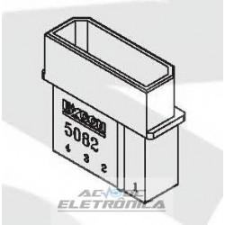 Conector 4 vias femea fonte cpu 508204HA
