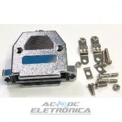 Capa conector DB25 metalico Kit curto