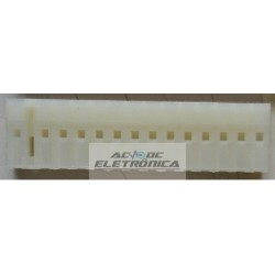 Conector 12 vias femea 509012HA - 7.5/5.0mm
