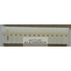Conector 14 vias femea 509014HA - 7.5/5.0mm