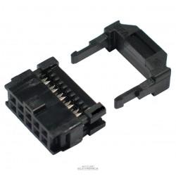 Conector 10 vias N latch IDC