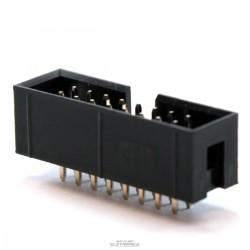 Conector 16 vias H latch IDC 180º s/ejetor