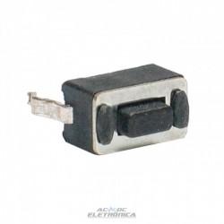 Chave tactil KFC-A06-3x6x4.3mm 2T 180º