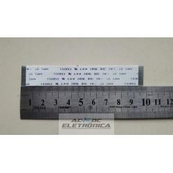 Cabo flat 15 vias 11cm passo 1mm