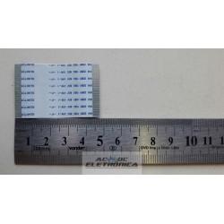Cabo flat 60 vias 4.7cm x 3cm passo 0.5mm