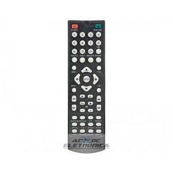 Controle DVD Lenox sound black - C01039