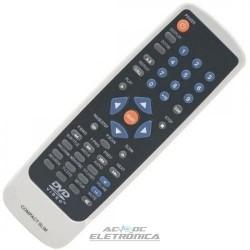 Controle DVD Britânia compact C0802