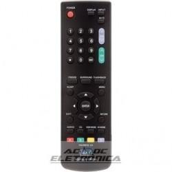 Controle TV LCD Sharp Aquos - C01198