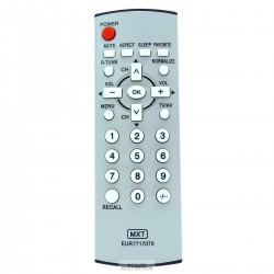 Controle TV Panasonic EUR501310 - C01054