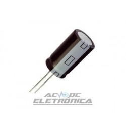 Capacitor eletrolitico 22uf x 25v 105º