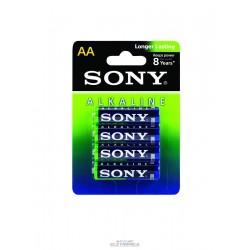 Pilha 1.5V AA Alcalina 15x50mm Sony C/4