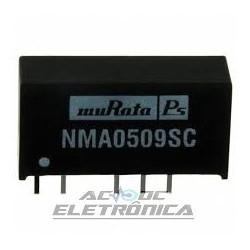 Conversor NMA0509SC 5v para 9v 55mhA