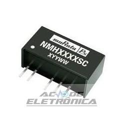 Conversor NMH0512SC 2w saida 5-12v