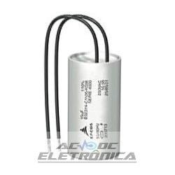 Capacitor de partida 2uF x 250Vac 50/60hz 10%