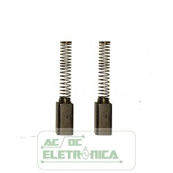 Escova EC3087/125C Arno c/02pç - 16x6,2x4,6mm (C x L x A mm)