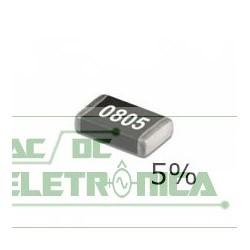Resistor 0R 1/10w SMD 0805 - 2,0x1,25mm