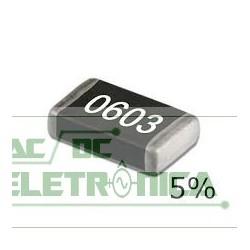 Resistor 10K 1/16w 5%  SMD 0603