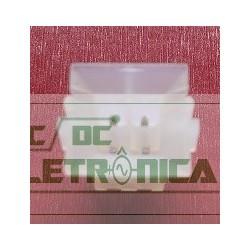 Conector 04 vias macho mini-fit 4,2mm PCB - PN 15246041