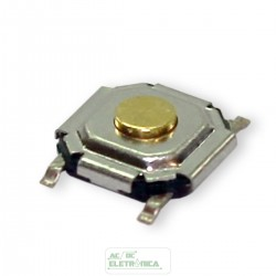 Chave Tactil 4x4x1,5mm 4 T SMD