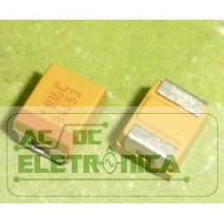 Capacitor tantalo 10uf x 16v SMD - 106C